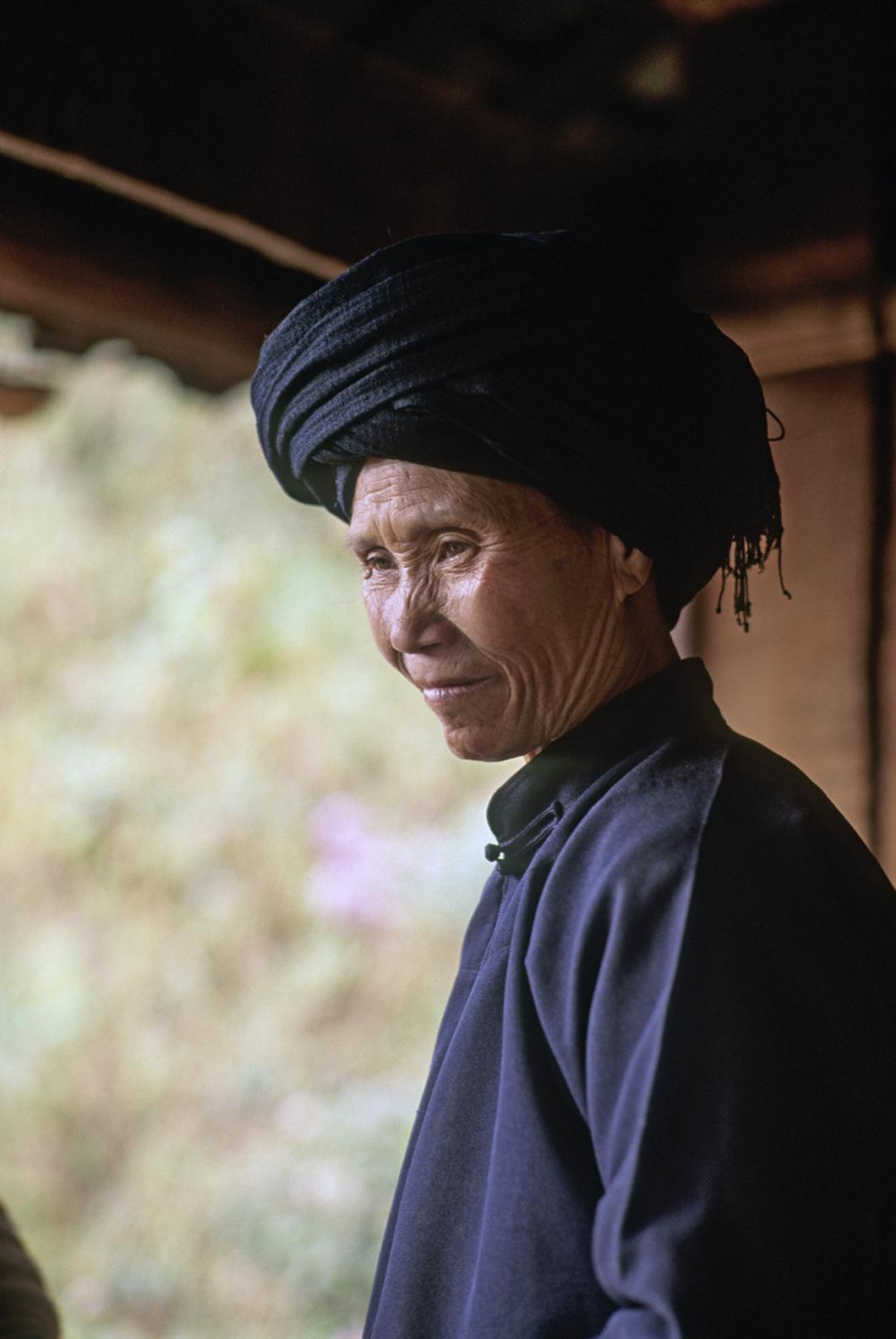 Woman looks at her grand daughter bride.