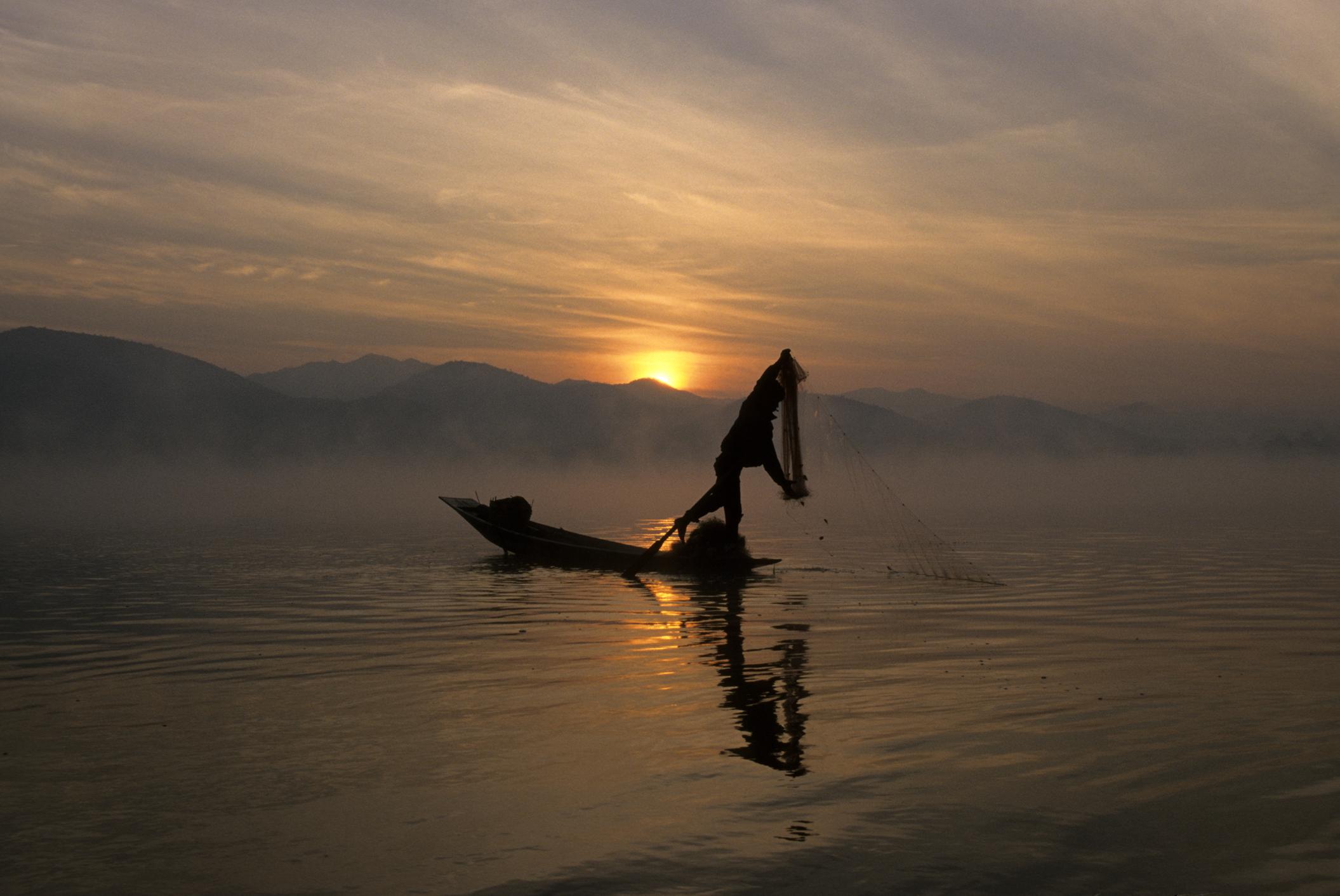 Lake Inle, Myanmar. 1997