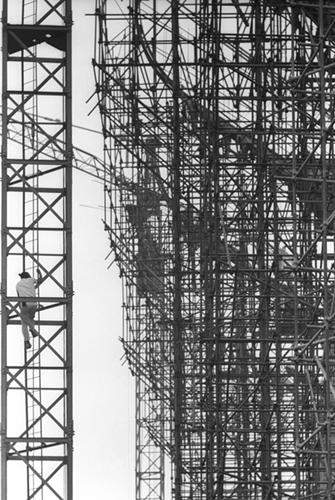 Construcción Estadio Azteca