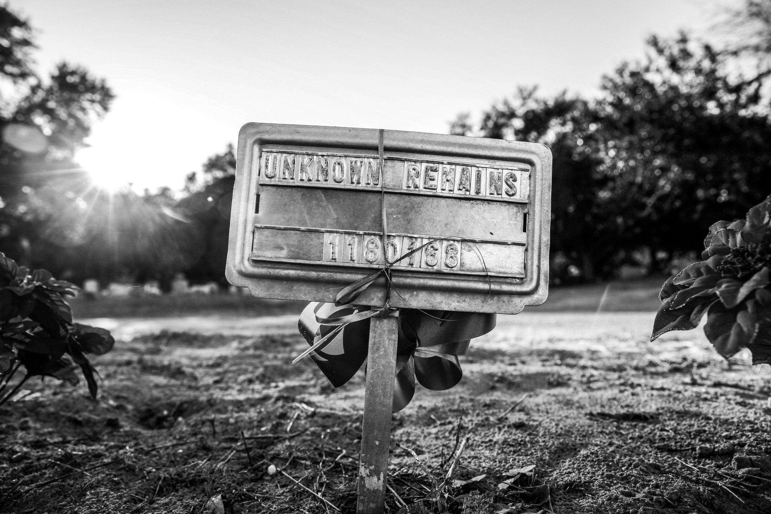 Unknown Remains     Falfurrias, Texas