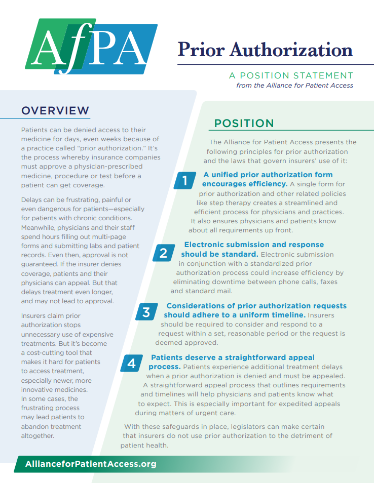 AfPA_Position Statement_Prior Auth.PNG