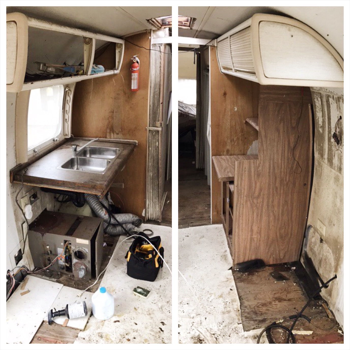 Before the demolition - this is what Cilla looked like inside. January 2017.