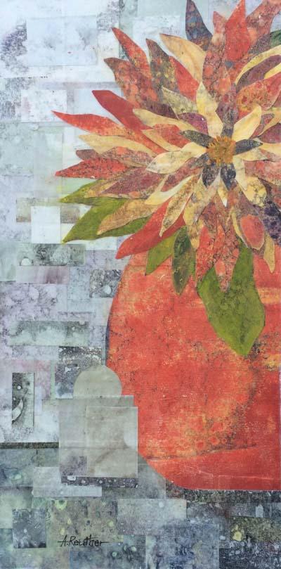"""Anita Reuther - """"Red Vase"""""""