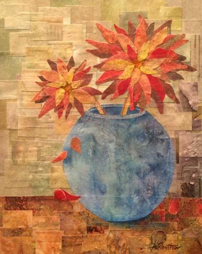 """Anita Reuther - """"Blue Vase"""""""