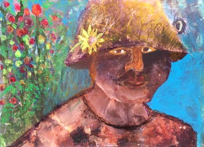 """Elke Briuer - """"The Tomato Grower"""""""