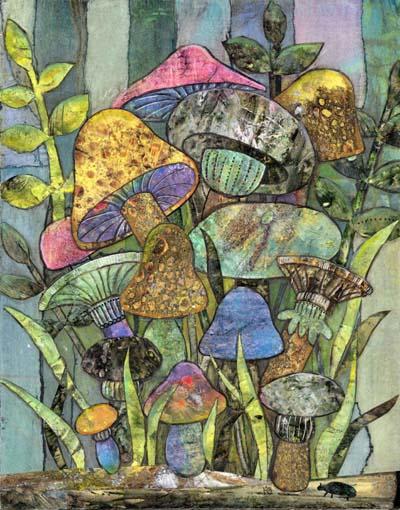 """Kayann Ausherman - """"Mushroom Garden"""""""