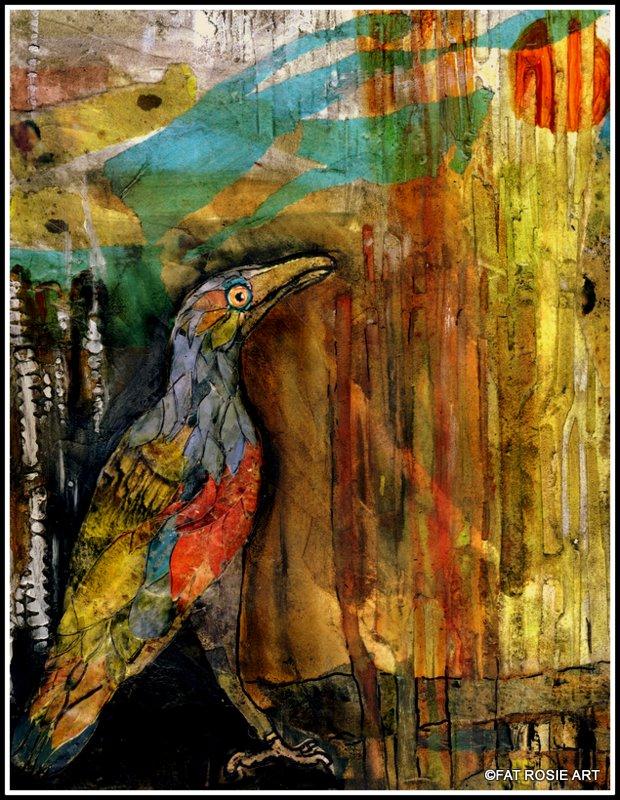 "Marsha Carlton, ""Bird of Colorful Feathers"""