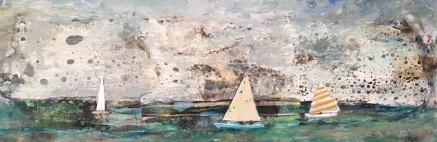 "Maureen Whitehouse - ""Boats Sail Together"""