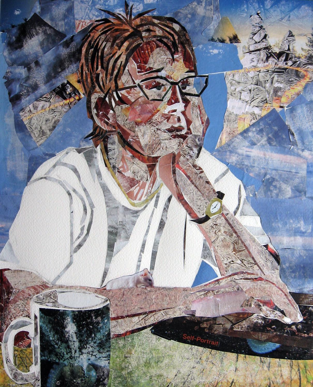 "Leslie White- ""Self Portrait"""