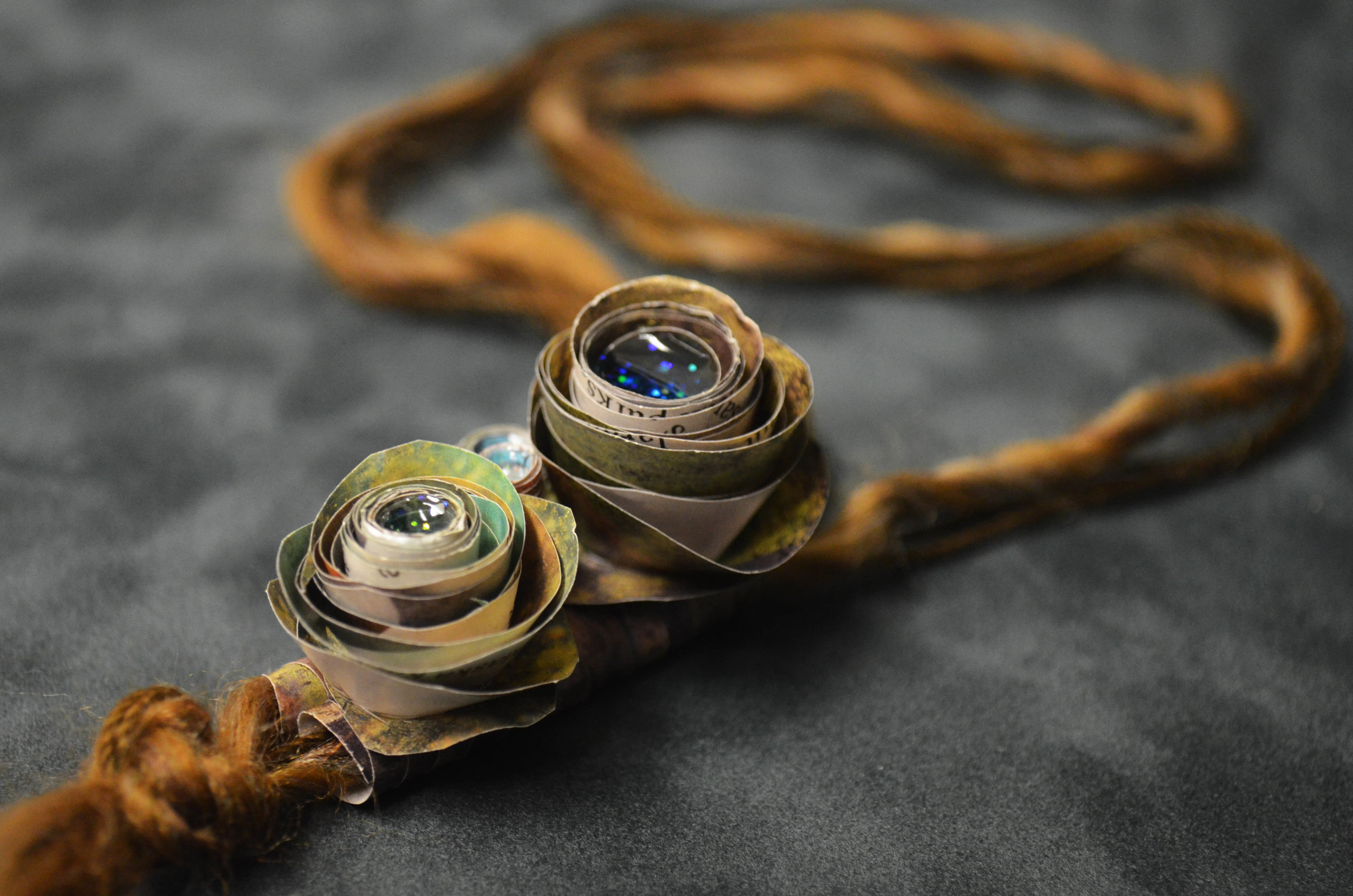 Lia Roberts (Canvas Kid)- Citra Bloom Necklace