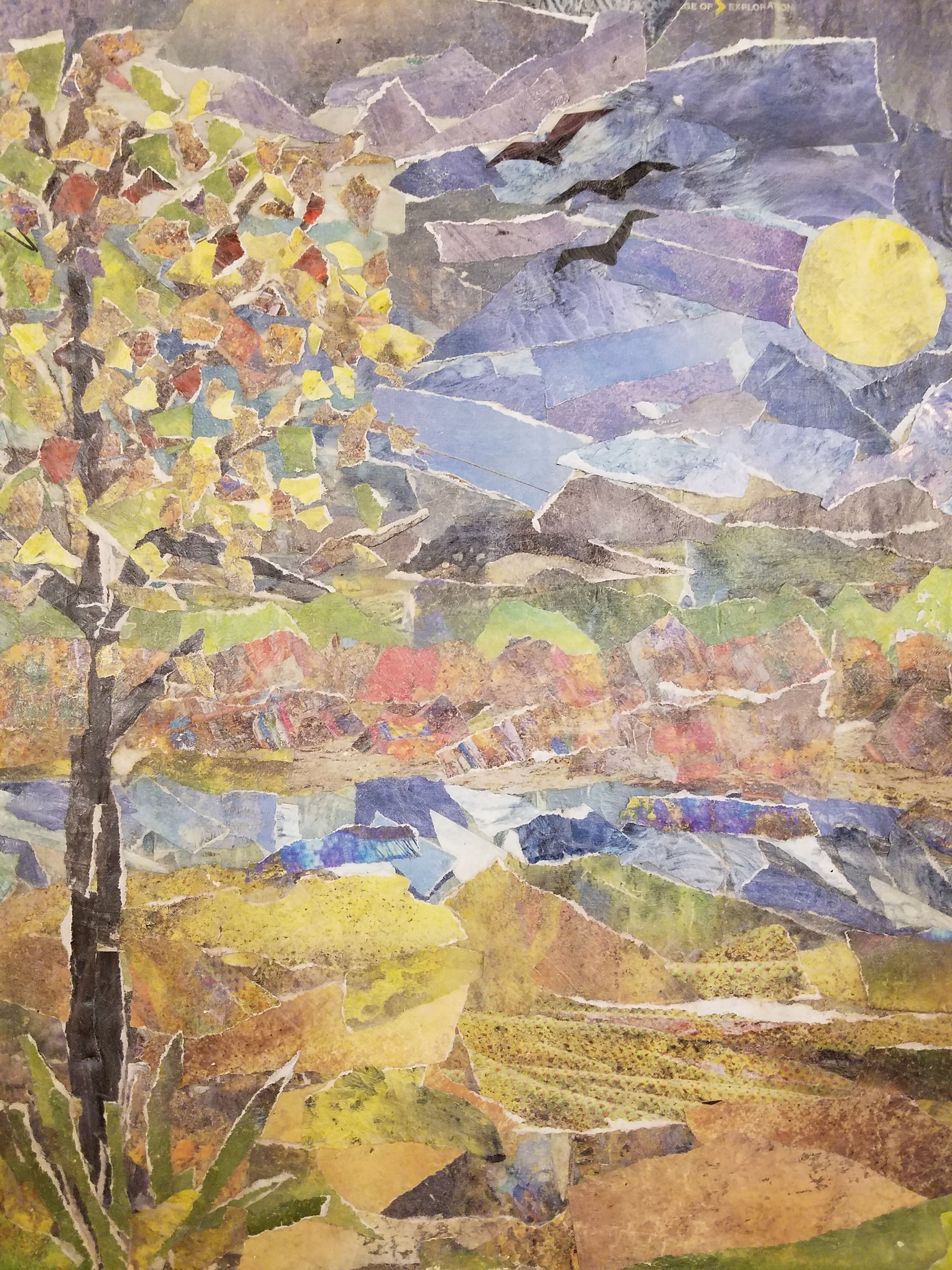 Colorful Fall Landscape II