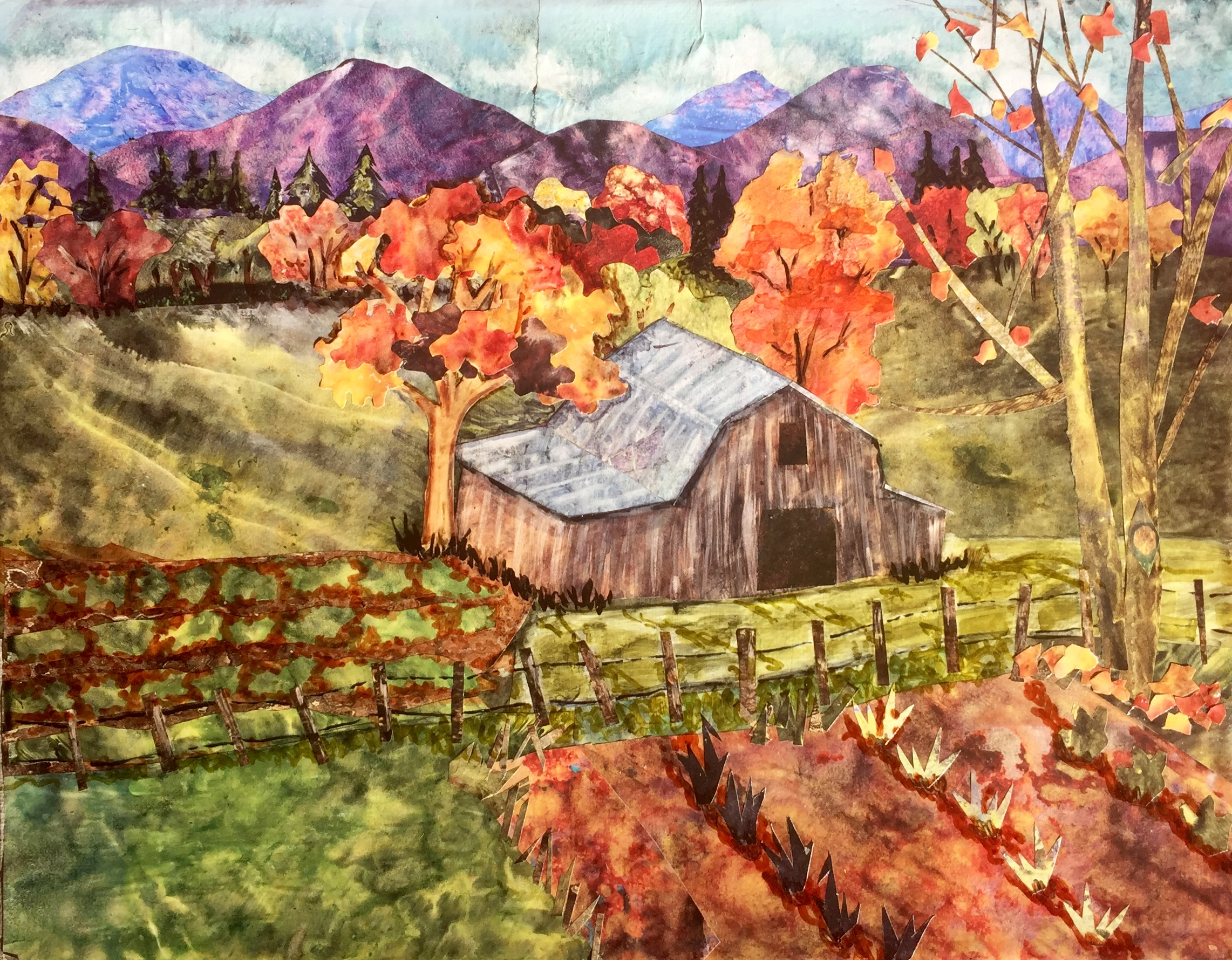 Fall in Valle Crucis