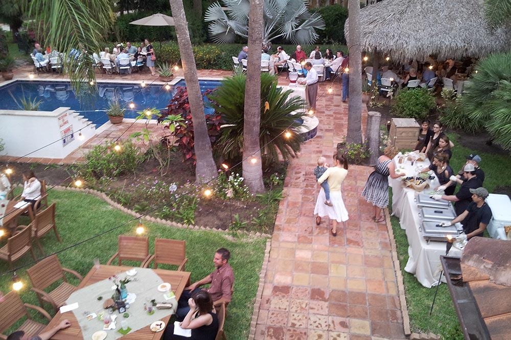 Wedding Reception at Inn