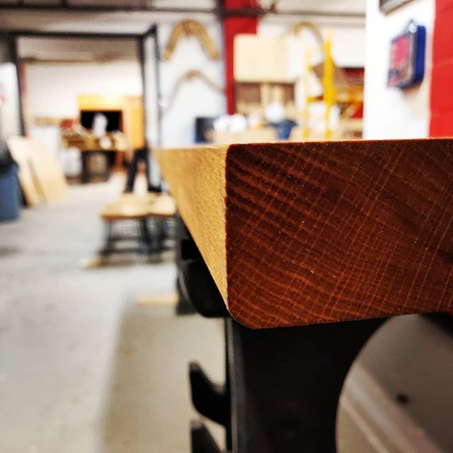 End grain near the end game. #finishfinishfinish #diyoung #bhtables #oak