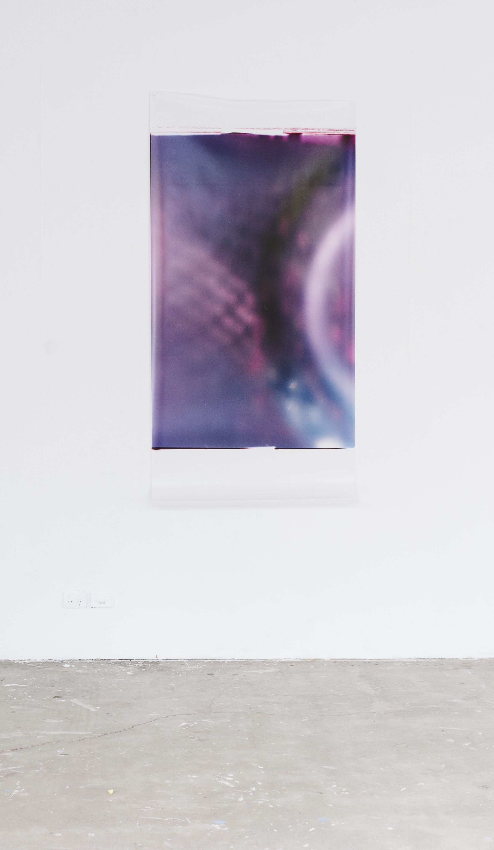 Untitled (Purple), Conflict of Interests, VCA Student Gallery, 2015