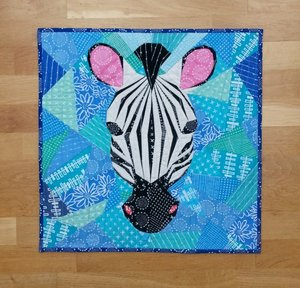 Zebra intermediate workshop - Solstice Stitchery 2018
