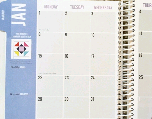 WQG Calendar of Events