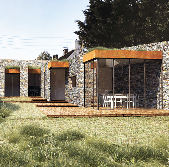 New build eco-house, South Glouschestershire BS16