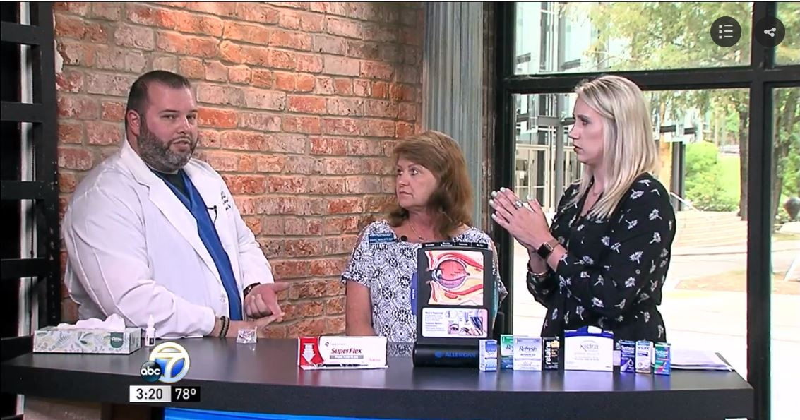 Click the photo above to watch Dr. Jeffrey Johnson discuss Dry Eye Syndrome on KATV's Good Afternoon Arkansas.