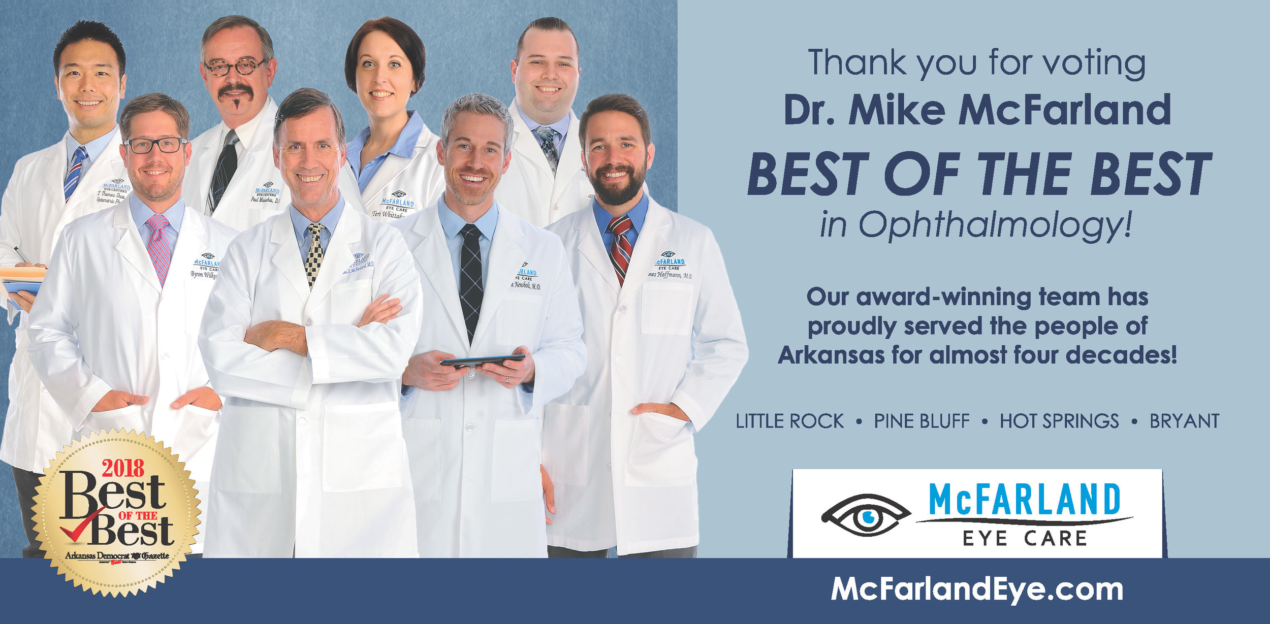 McFarland wins Best of the Best