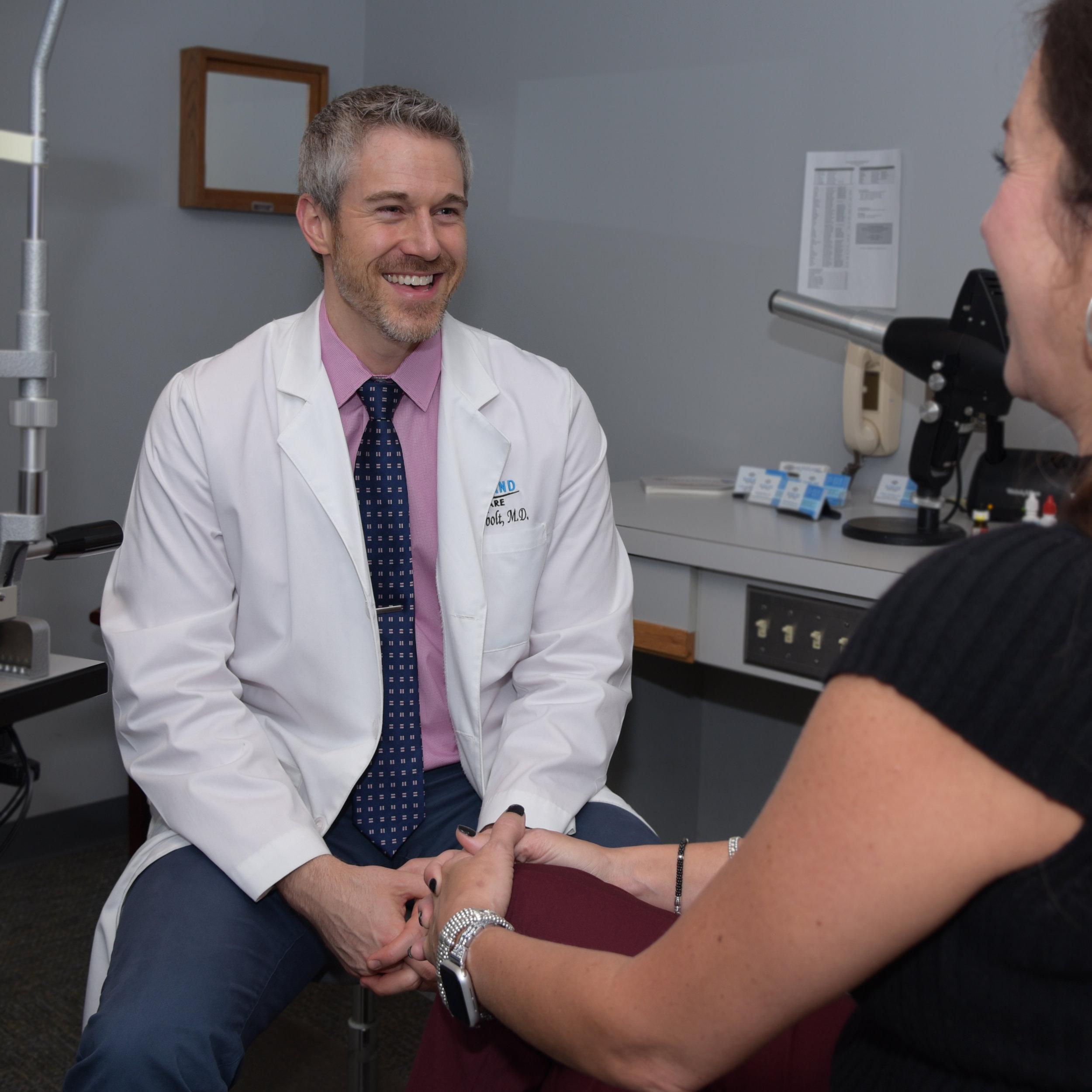 Dr Evan Newbolt LASIK Surgeon McFarland Eye Care