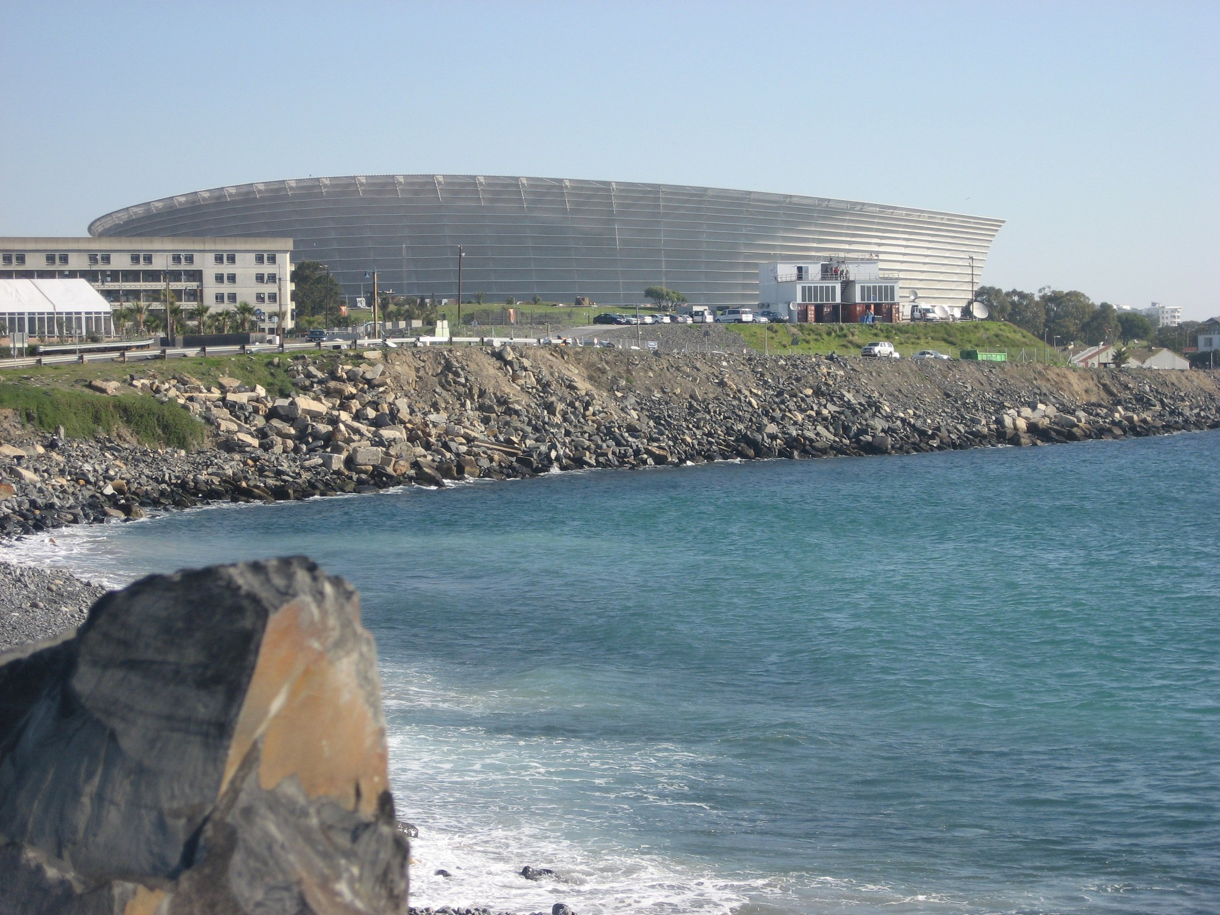 Green Point Stadium from the Waterfront Village