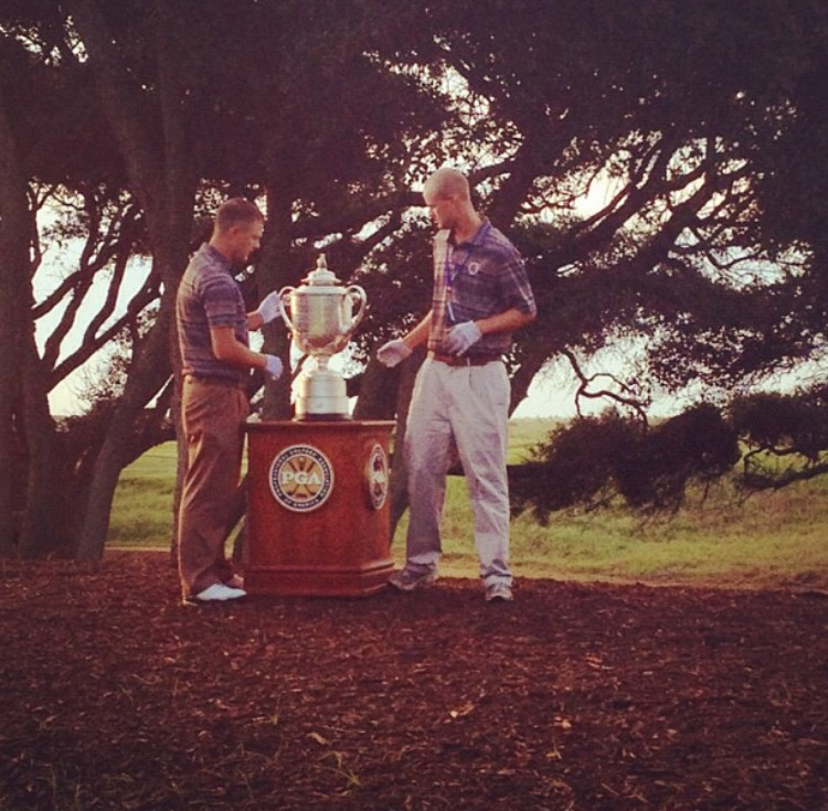 Carried the Wanamaker to the 1st tee