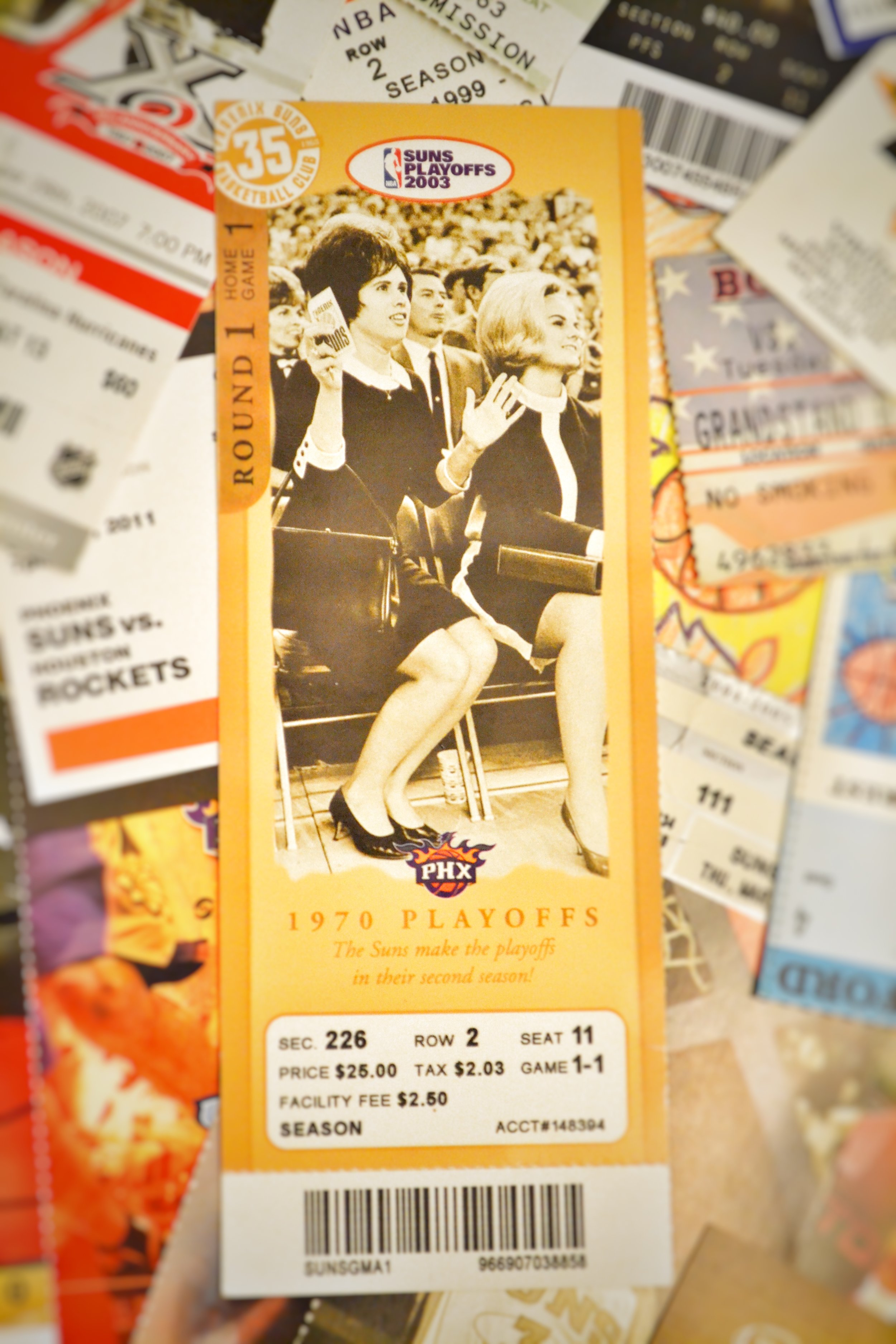 Spurs vs. Suns ticket