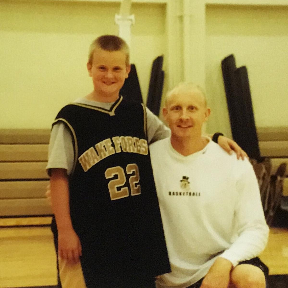 Coach Mack and me