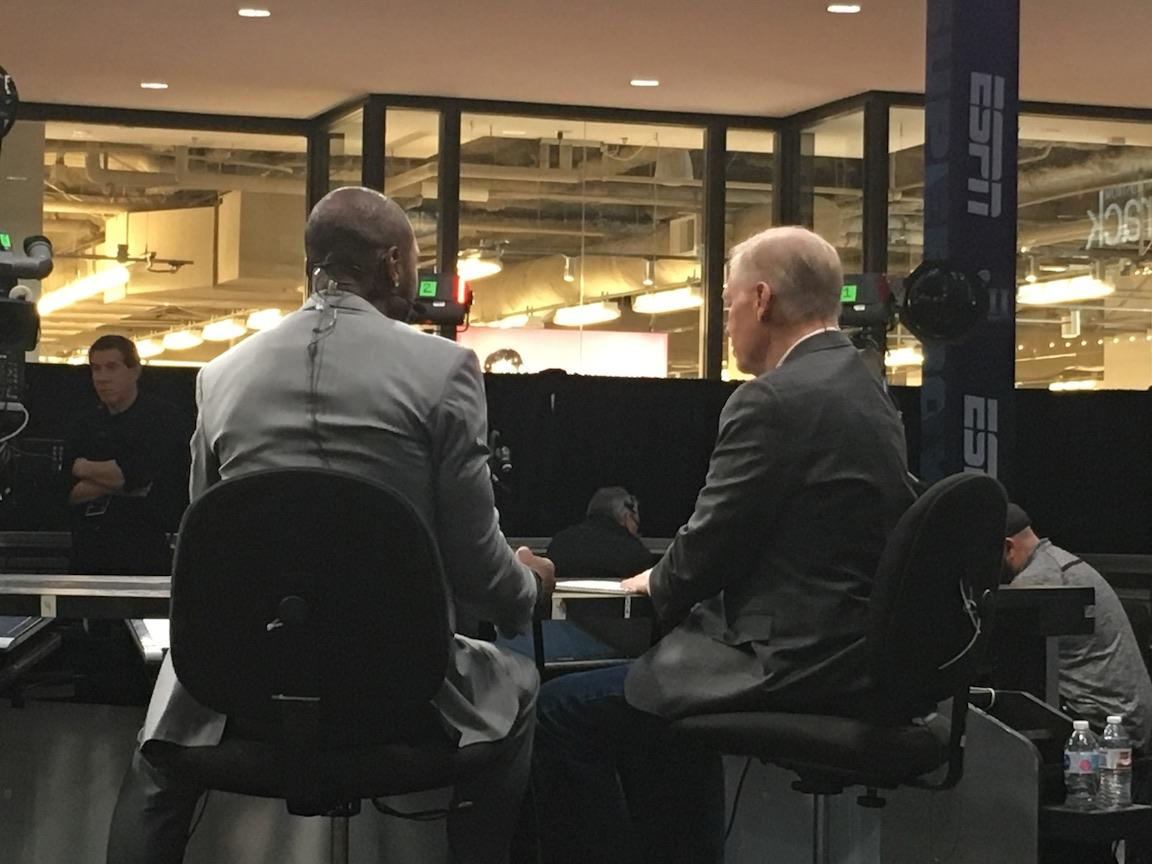 ESPN on air