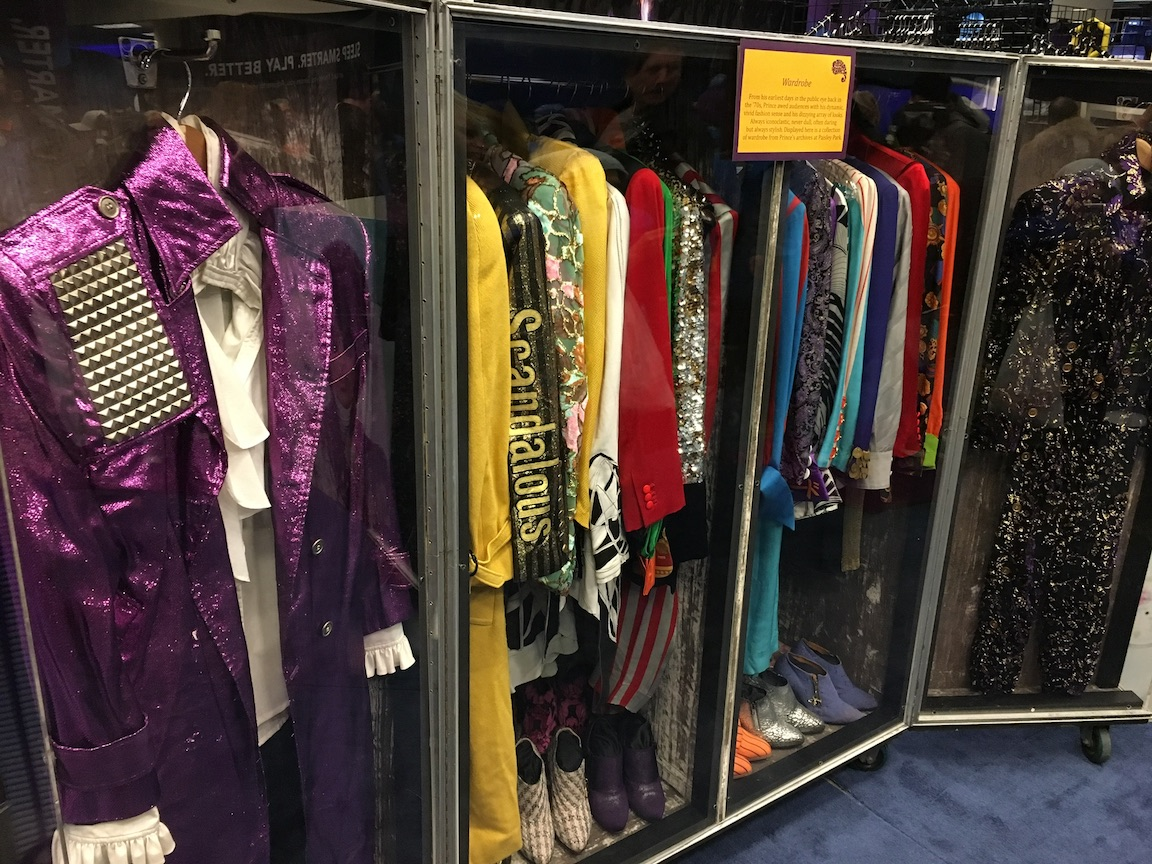 Prince's touring outfits