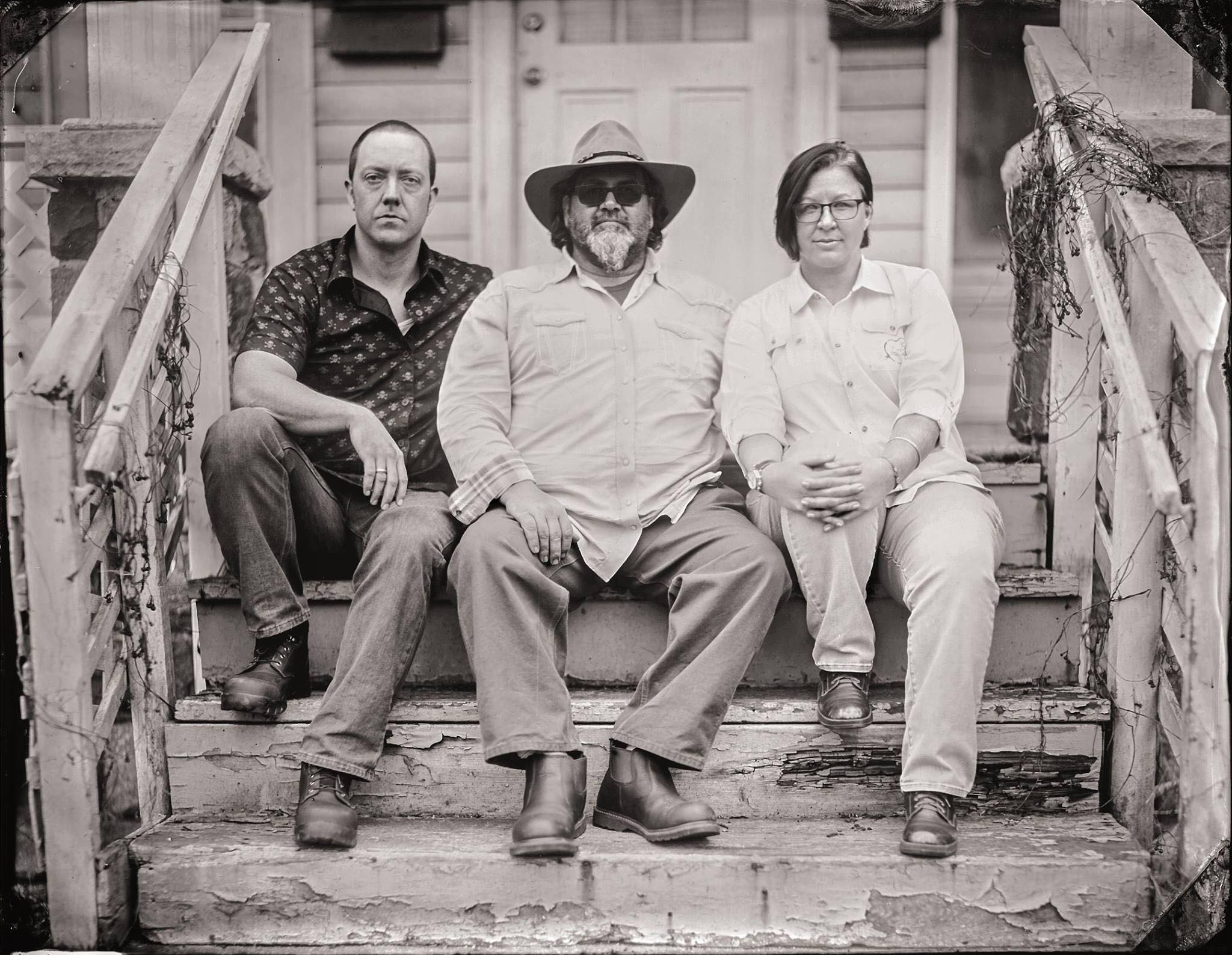 Kyle Bice, Fred Bueltmann, Emily Bennett  Photo by Victor Vague