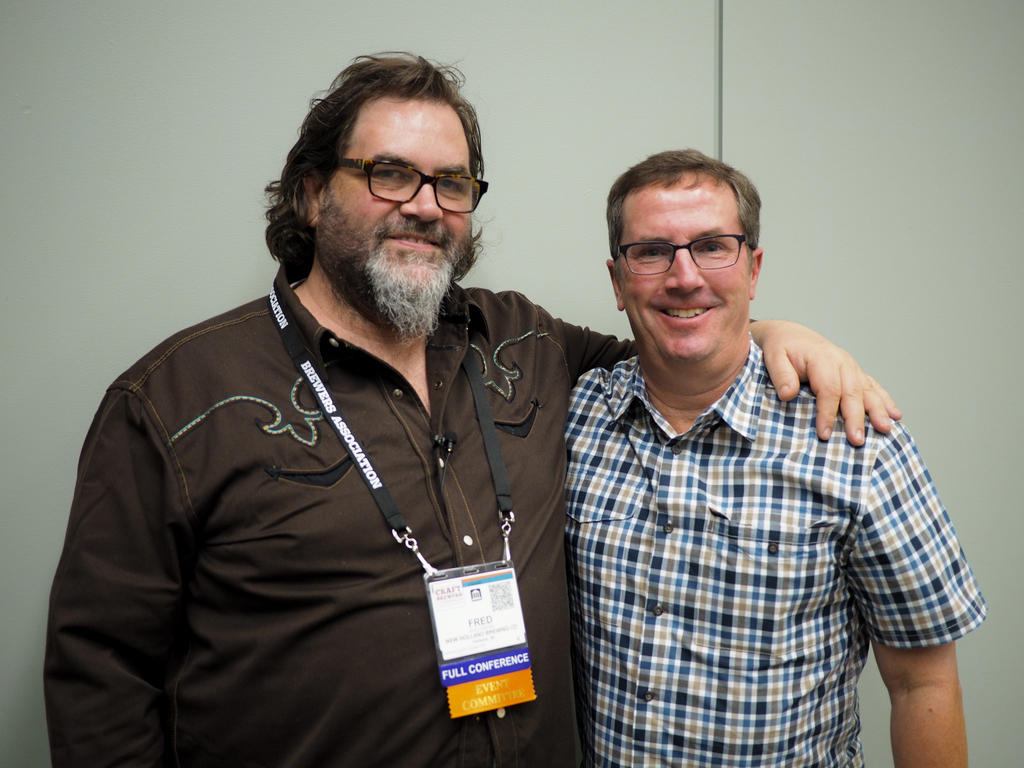 Fred Bueltmann and Bob Pease, President &CEO, Brewers Association