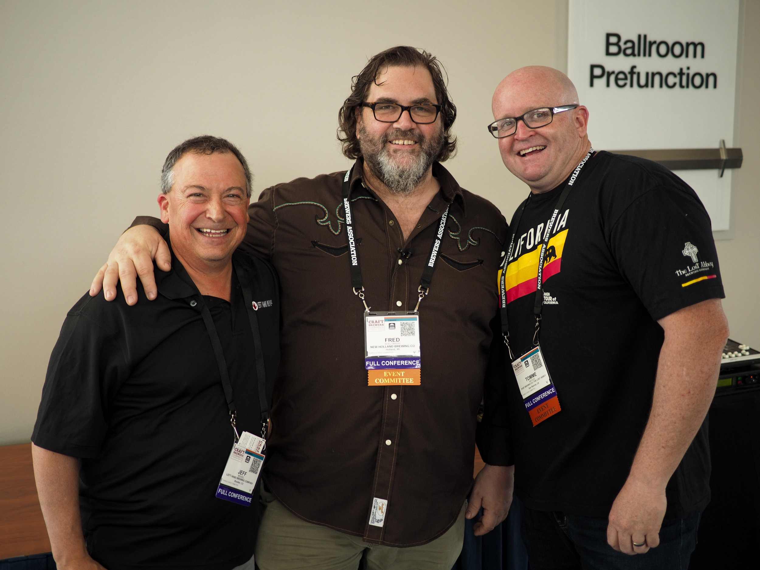 Jeff Mendel, Left Hand Brewing Company, Fred Bueltmann, Tomme Arthur, Port Brewing Company/The Lost Abbey