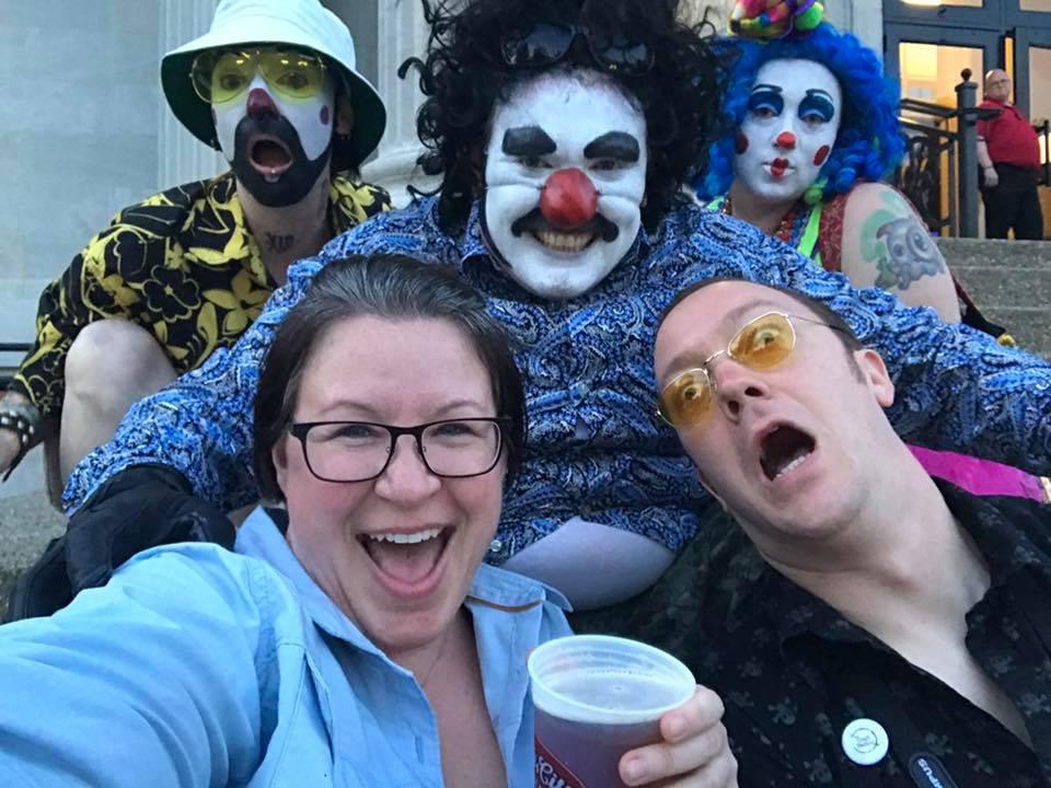 Emily Bennett, Kyle Bice and the Kalishnikov Clowns