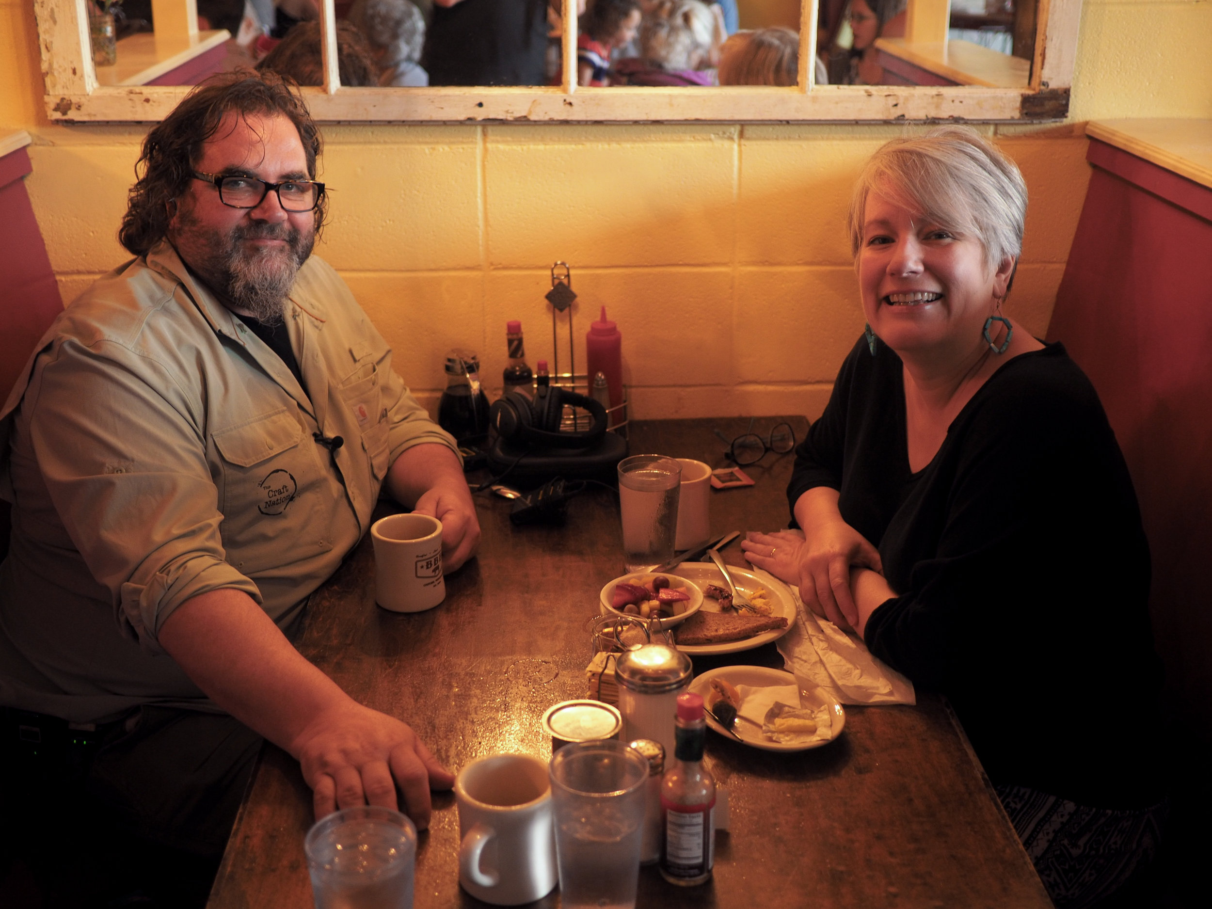 (l-r) Fred Bueltmann and Melissa Hall
