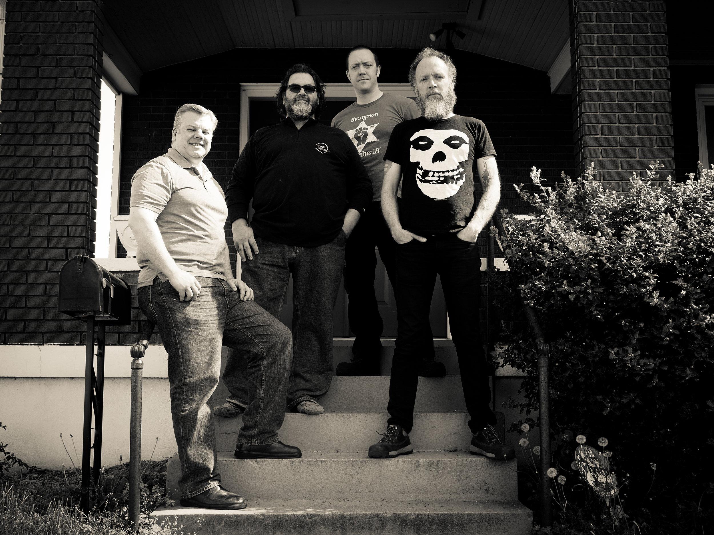 (l-r) Jeff Hage, Fred Bueltmann, Kyle Bice, Seth Thompson
