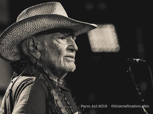 We were witness to a stunning example of compassion, generosity and wisdom. It all started with one person listening, taking collaborative action, and beginning a movement  fueled by love & hope and literally millions of relationships.  We are grateful and inspired from being a part of it and look forward to sharing more with you soon.  Farm Aid store is open for merch and donations.  Help turn it all around and keep America growing!  @farmaid www.farmaid.com  1-800-FarmAid #farmaid2019 #farmaid #familyfarm #smallfarm #localfarm #localfood #wisconsin #dairyfarm #willienelson #music #livemusic #alpinevalley #alpinevalleymusictheatre #family #friends photo by @kab_studio