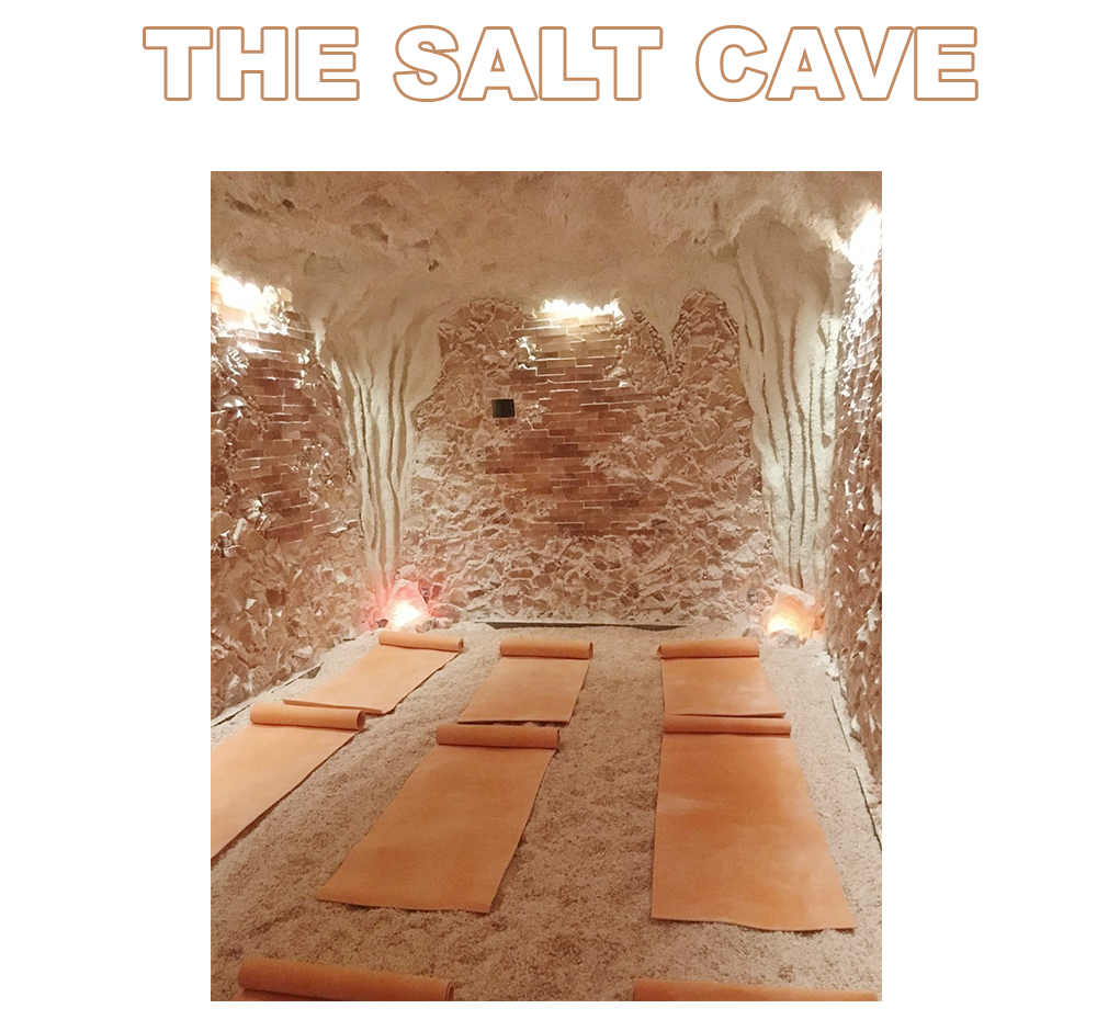 -       There's nothing more zen than a room filled floor to ceiling with salt. 4811 Nicollet Ave S., Minneapolis  saltcaveminnesota.com