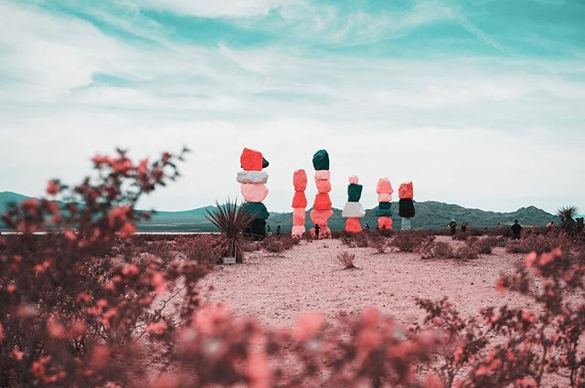 THE TEAL PINK PROJECT: 037 * * * #ttpp #thetealpinkproject #tealpink #teal #pink #project #sonya6000 #gopro #djimavic #sevenmagicmountains