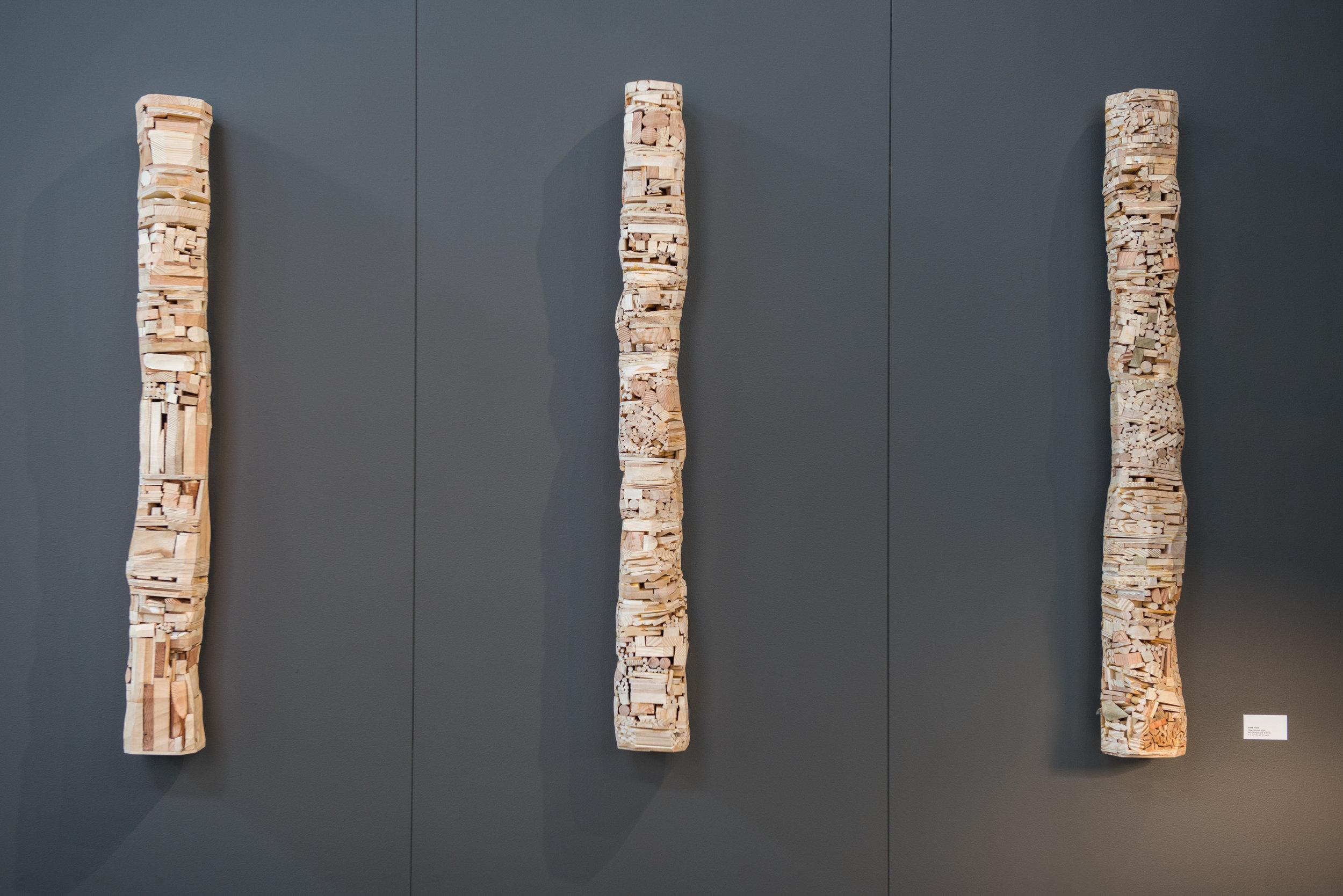 Three Columns, 2016
