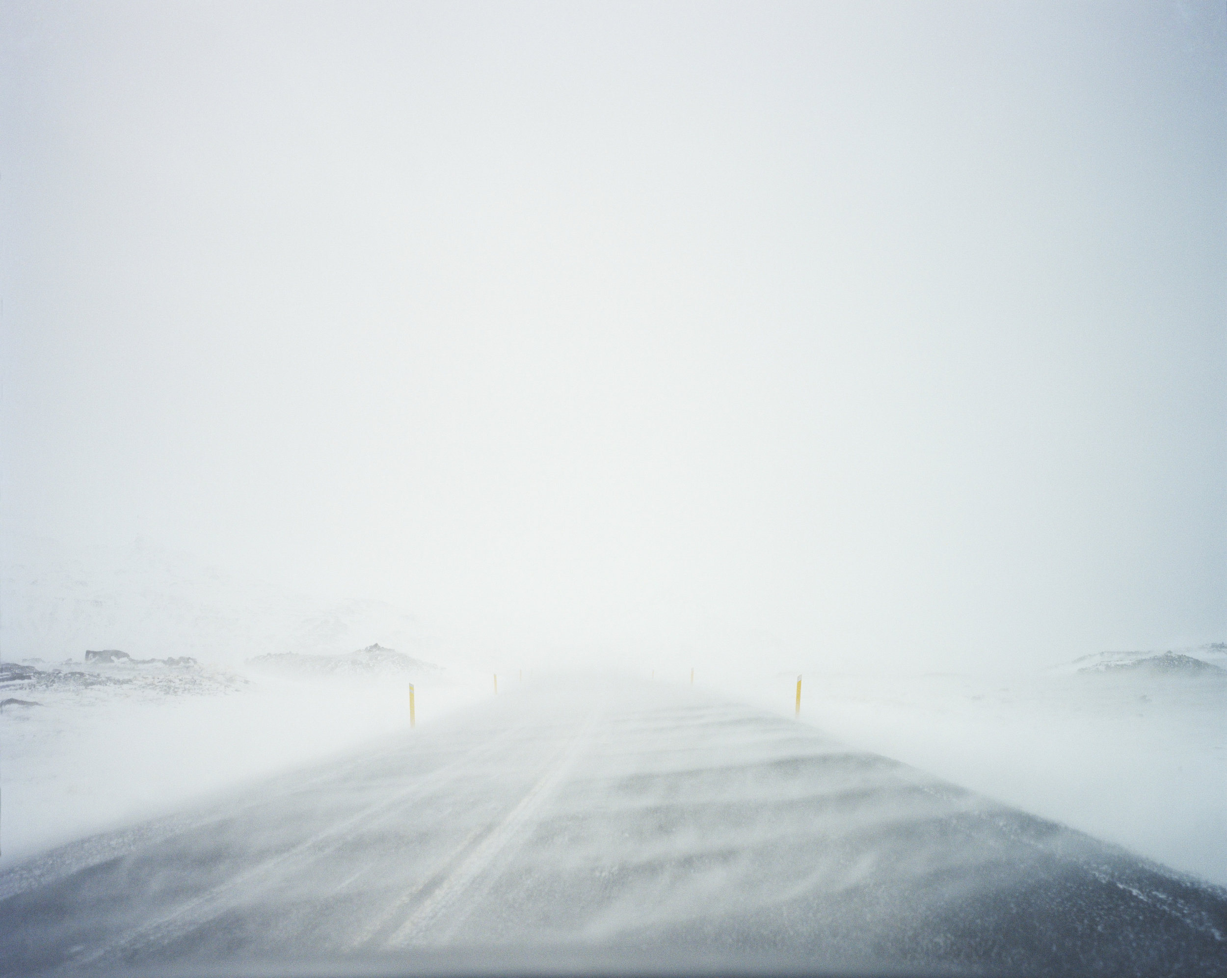 Dyrholavegur (road), Iceland, 2013