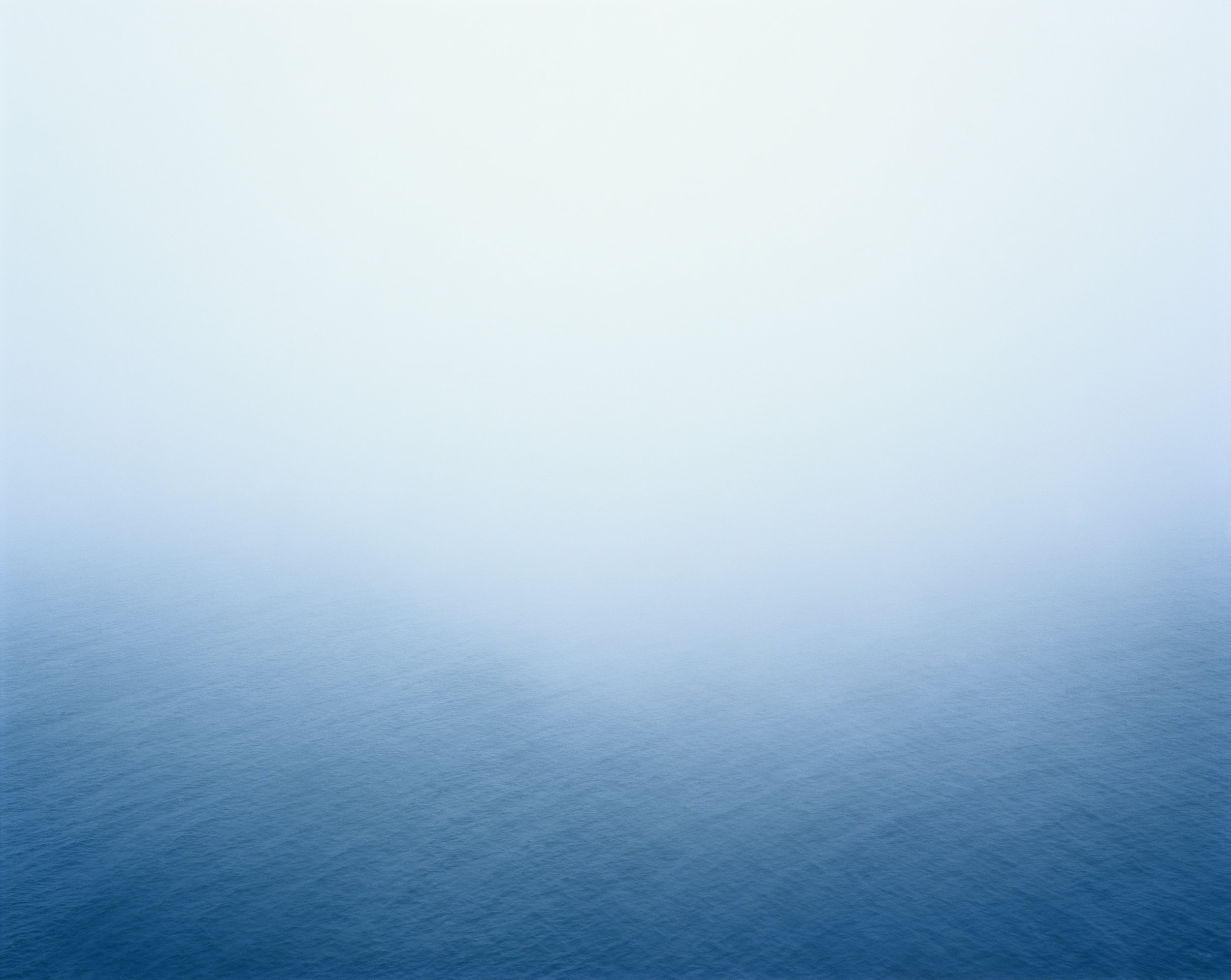 Fog Over Water, Point Reyes, 2010