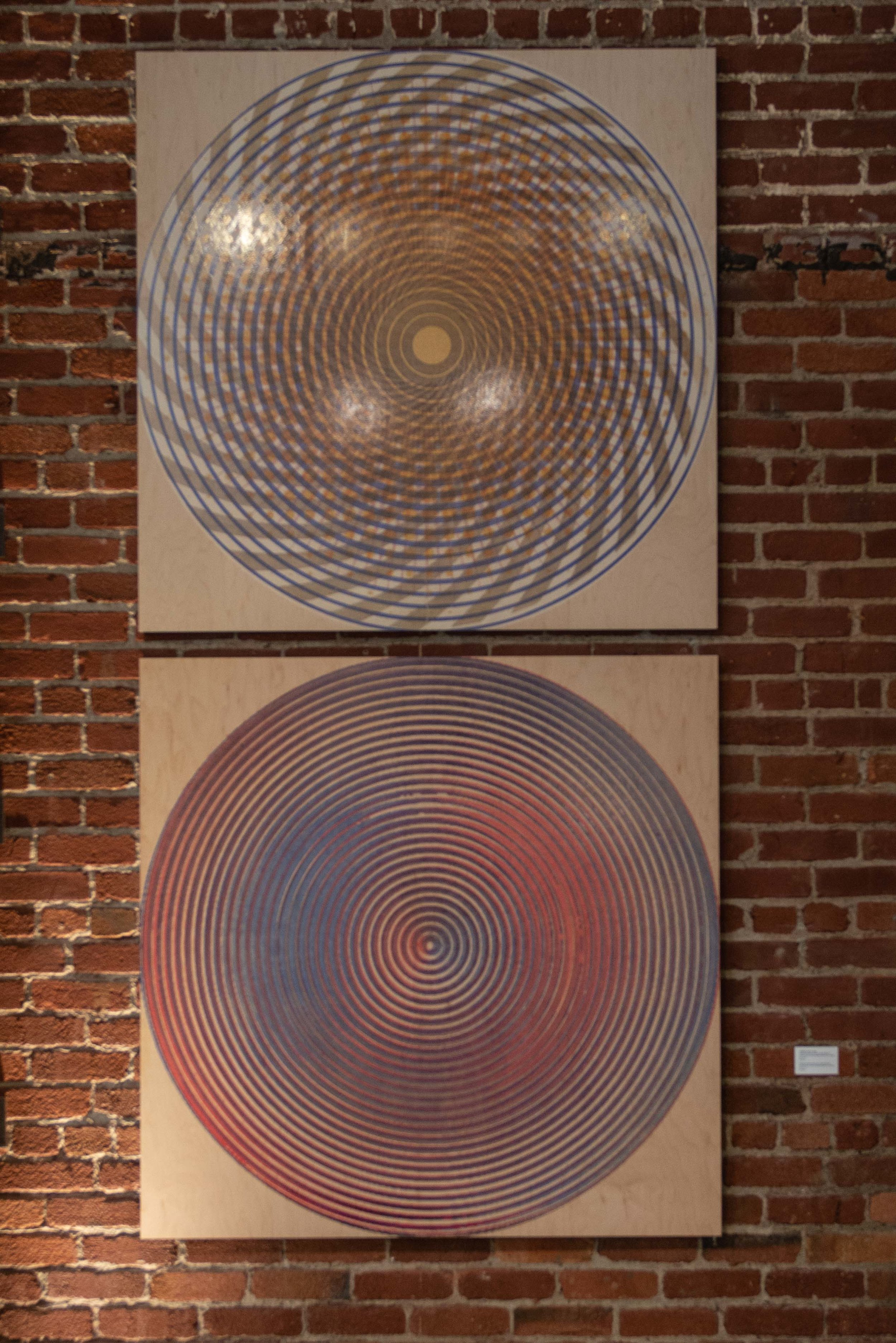 Interference/Confluence Large Wood 1 & 2