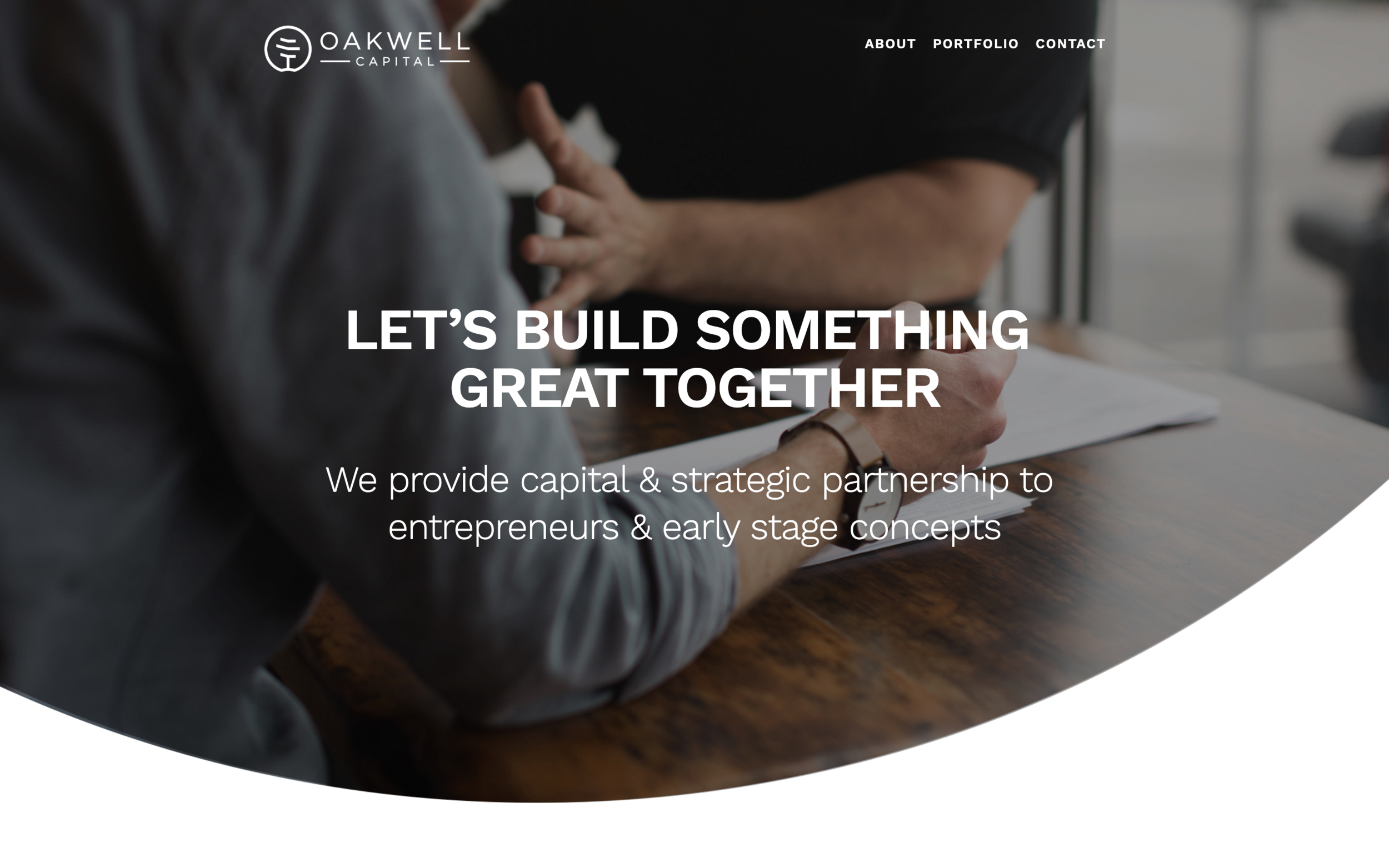 oakwellcapital.com - Custom Investment Firm Squarespace SolutionWe partnered with Oakwell Capital to create a unique Squarespace website. They had requests for things like animations and specific layout needs and we were able to deliver the perfect site for the company to share with future investment opportunities.