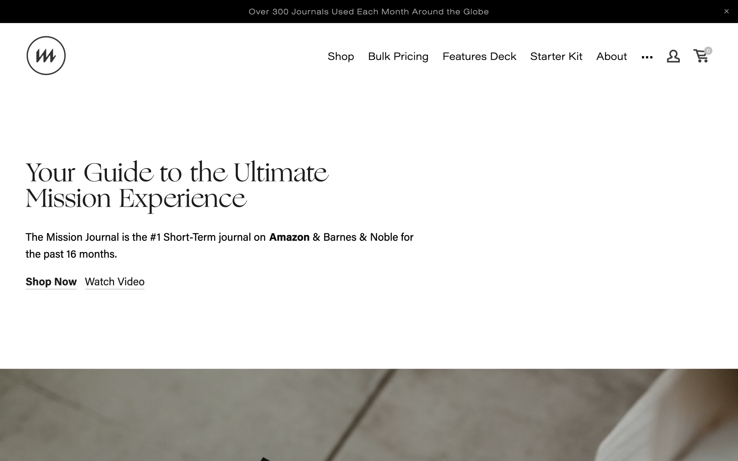 themissionjournal.com - Modern Squarespace e-Commerce SolutionThe Mission Journal's website is a culmination of timeless design, modern layout, responsive-forward approach and informative content. The end result is user friendly and is a great home for the product on the internet.