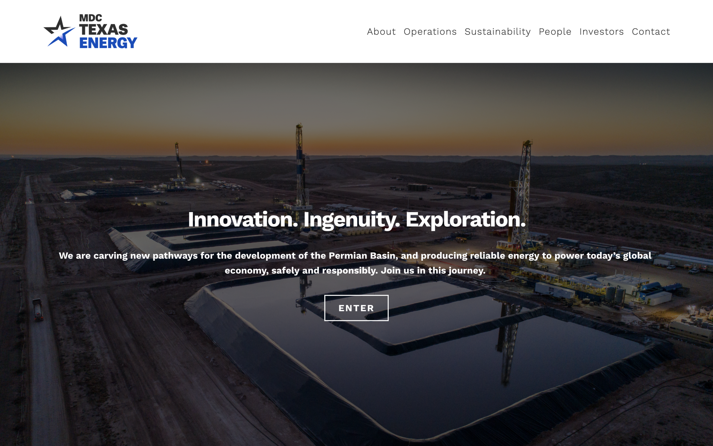 mdctexasenergy.net - Beautiful Squarespace Website DesignProducing reliable sources of energy is important for our economy. This fullwidth Squarespace website demands the users attention and is a great example of a responsive Squarespace website.