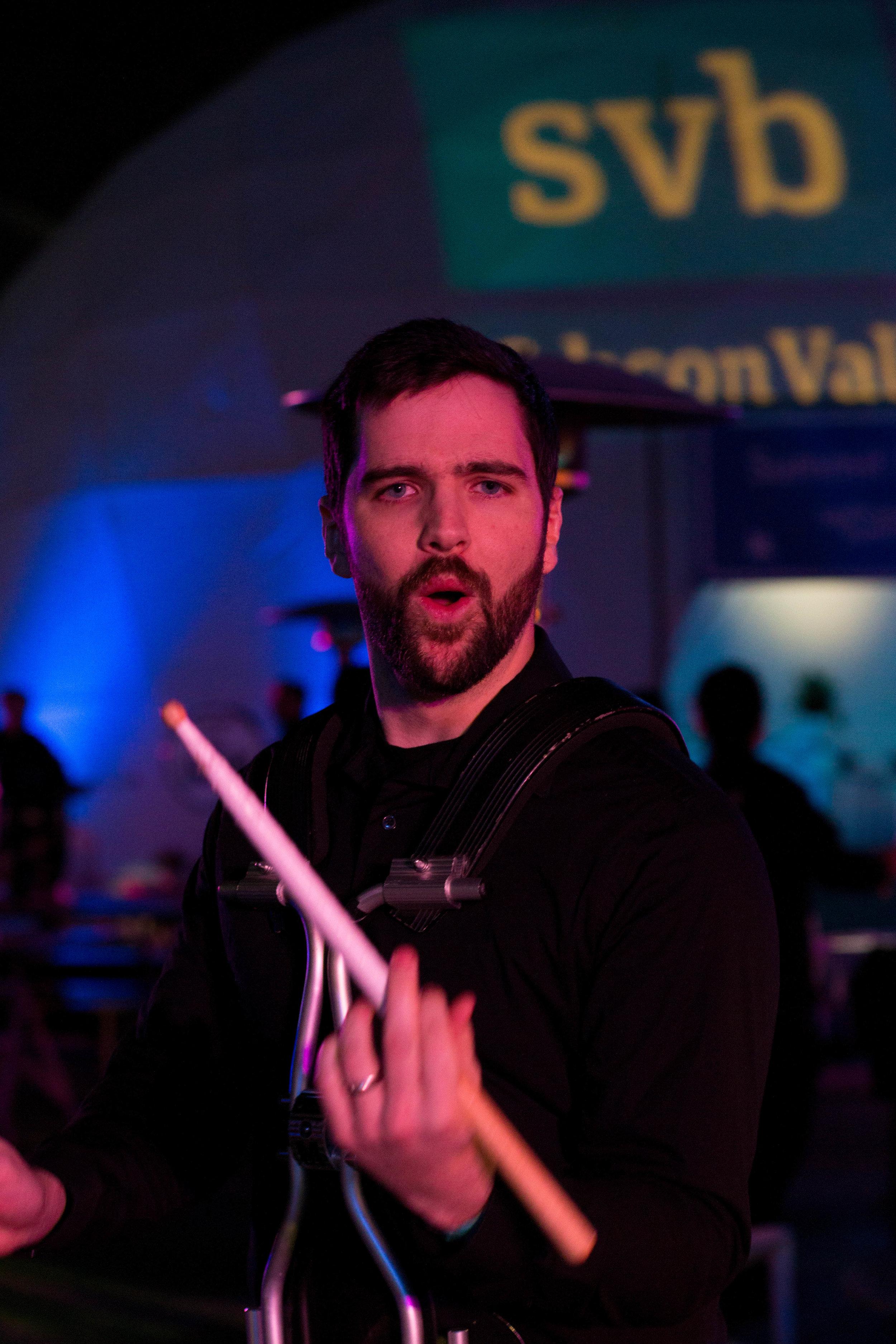 David Performing