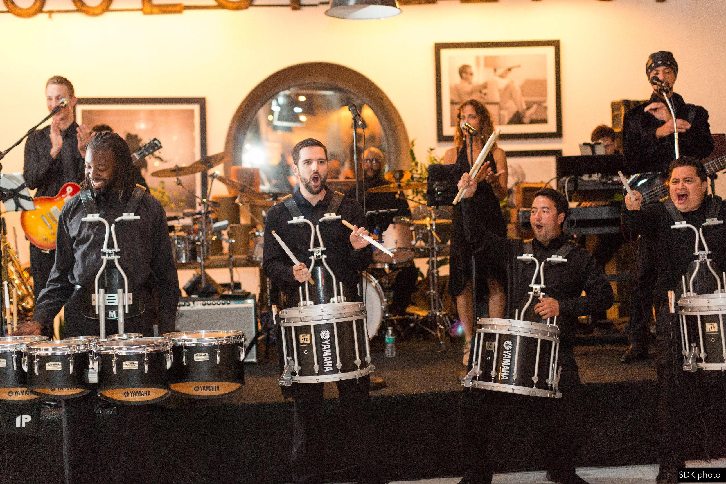 Rock Church Drumline Performance- Drumline for hire
