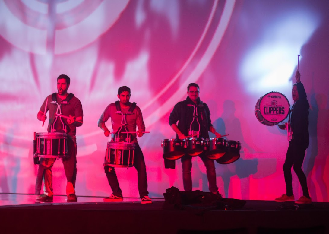 Upfront Summit- Hire a marching band for a corporate event